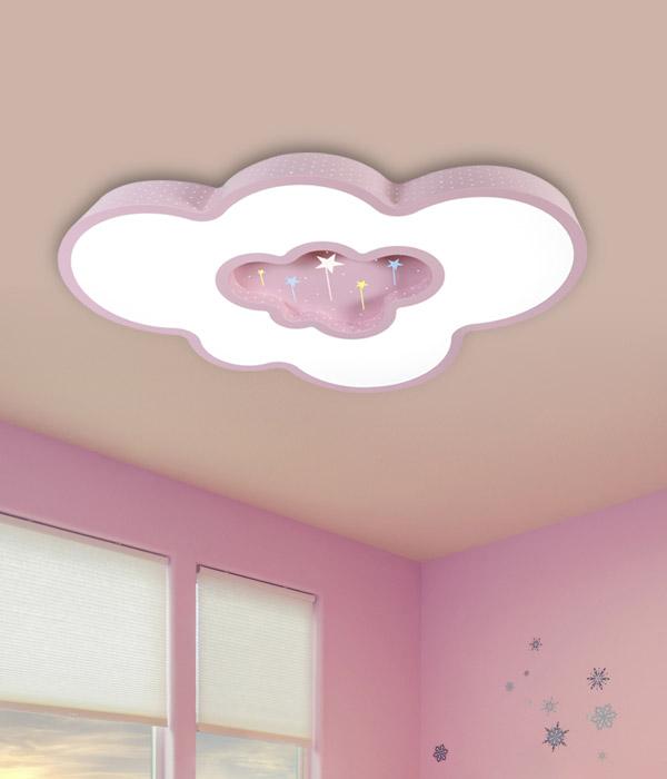LED 스타구름방등 50W [화이트/핑크/블루]