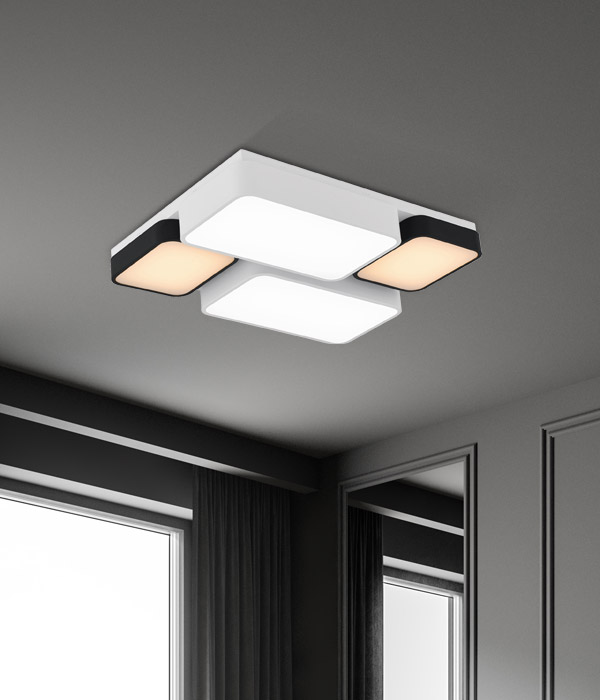 LED 미크스 4등 거실등[120W]